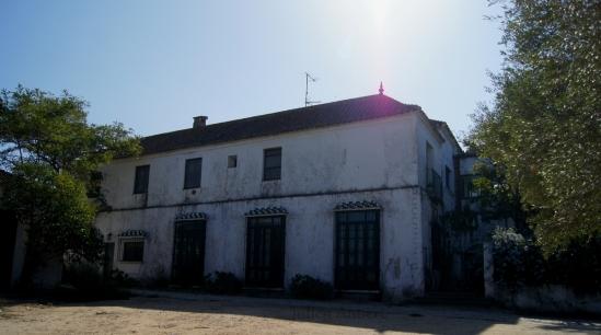 Cortijo de Los Derramaderos sous un soleil de plomb