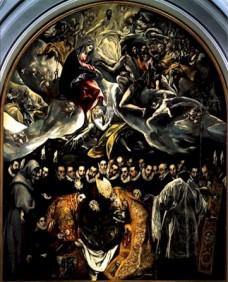 Enterrement du Comte d'Orgaz, peinture d'El Greco