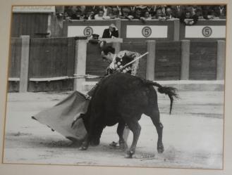 Paco Medina, toréant à Talavera de la Reina
