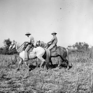 Hubert Yonnet réalisant les faenas de campo à l'Esquinau. Photographie de Carles Naudot.