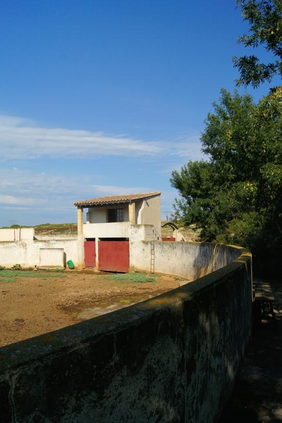 Inicial y antigua plaza de tienta que edificó Laurent Fano.