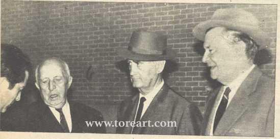 Carlos Sanchez Rico Samuel Flores y el Marqués de Villagodio 1965