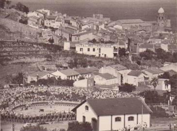 Plaza de toros de Collioure, cerrada en los últimos años después de una larga tradición taurina.